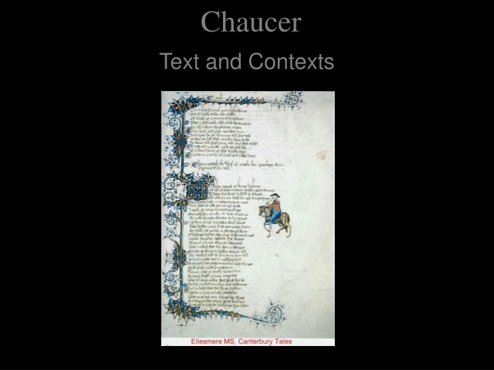 chaucer n.