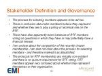 stakeholder definition and governance3