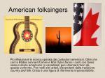 american folksingers