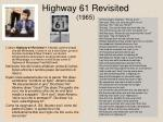 highway 61 revisited 1965