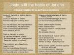 joshua fit the battle of jericho giosue combatte la battaglia di gerico