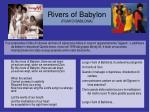rivers of babylon fiumi di babilonia