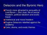 delacroix and the byronic hero