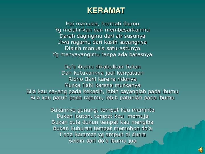 KERAMAT