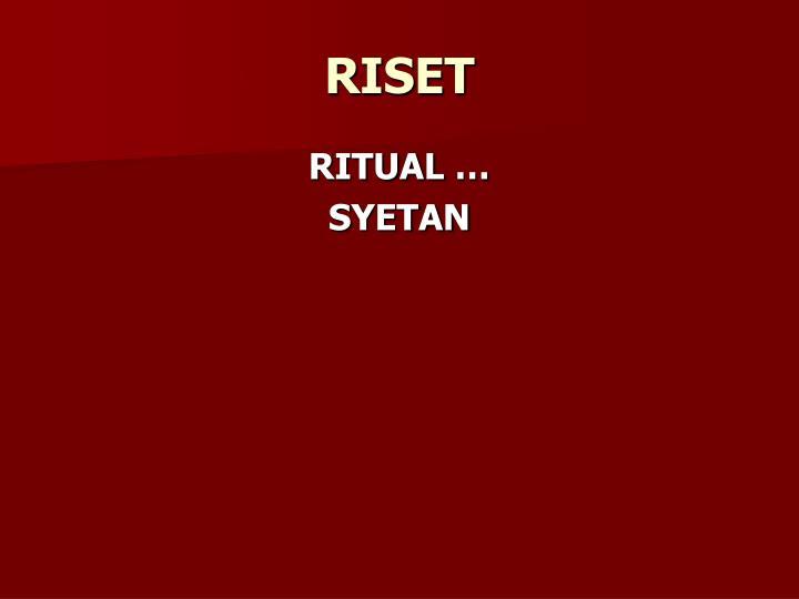 RISET