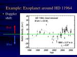example exoplanet around hd 11964