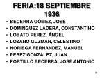 feria 18 septiembre 19361