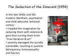 the seduction of the innocent 1954