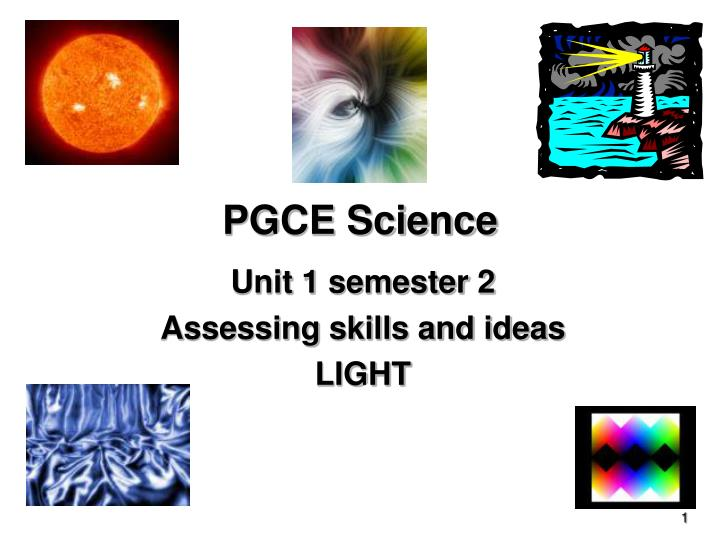 pgce science n.