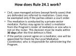 how does rule 24 1 work