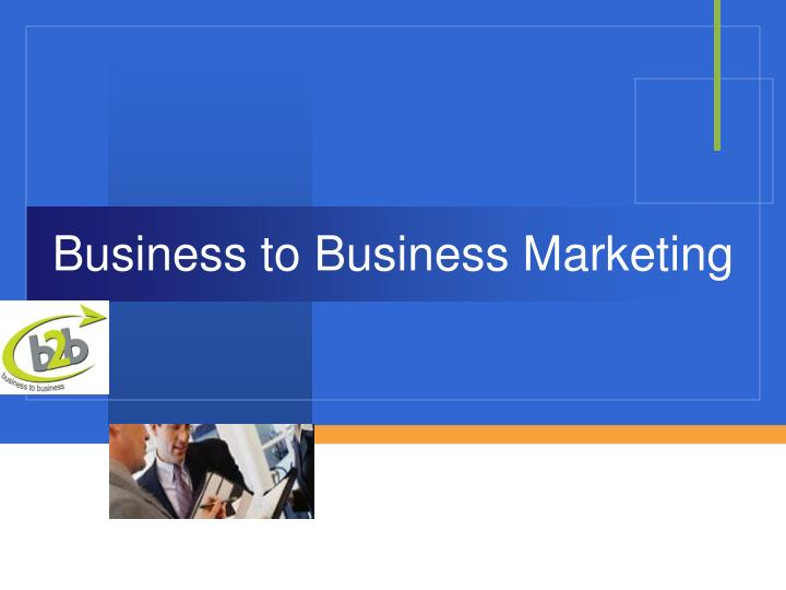 business to business marketing n.