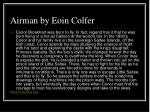 airman by eoin colfer