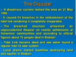 the disaster1