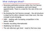 what challenges ahead 1