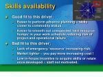 skills availability1