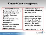 kindred case management