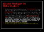 resume strategies for older workers