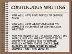 continuous writing2