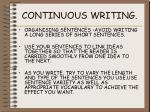 continuous writing3