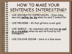 how to make your sentences interesting1