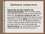 sentence connectors1