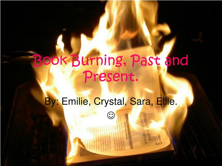 book burning past and present n.