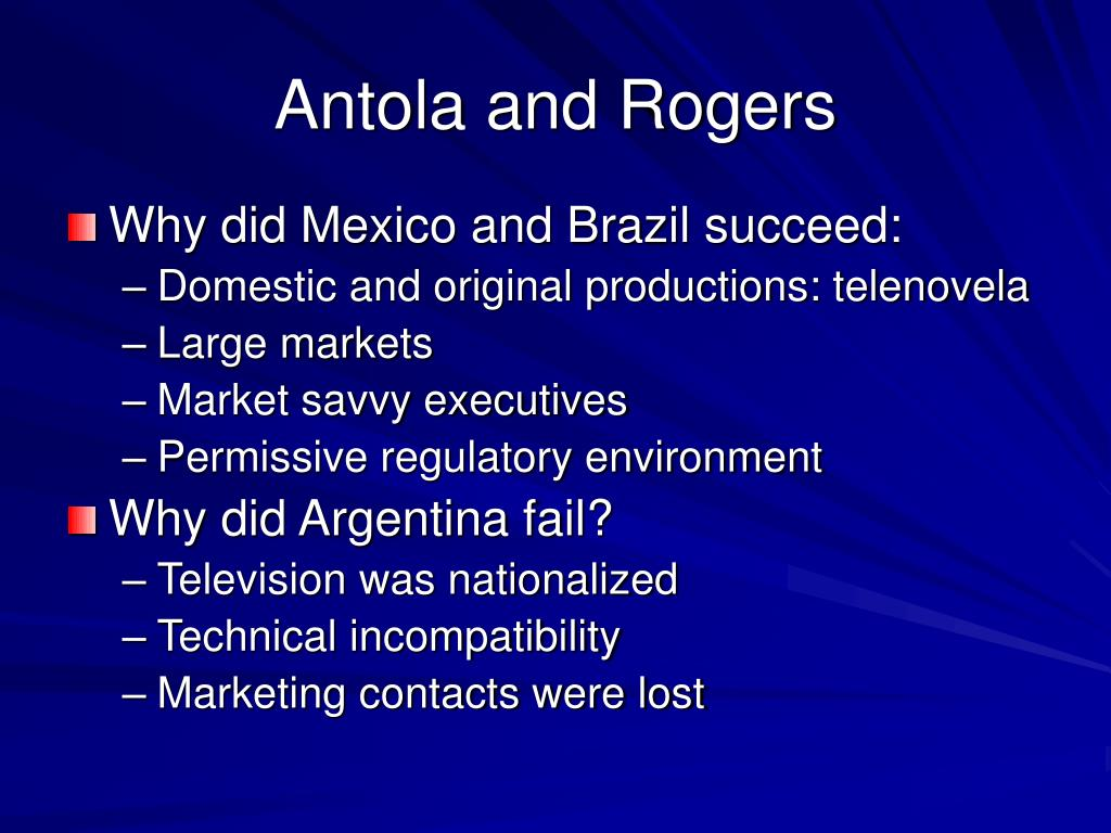 Antola and Rogers