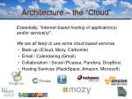 architecture the cloud1