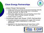clean energy partnerships
