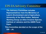 i3n ja advisory committee