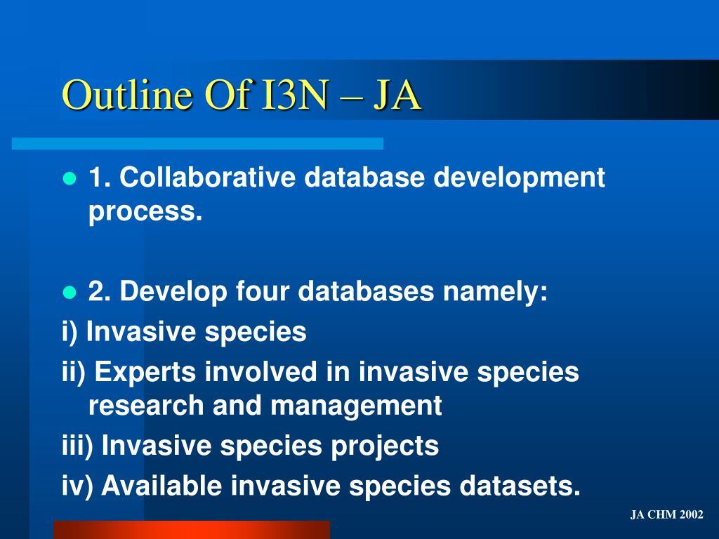 Outline Of I3N – JA