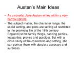 austen s main ideas1