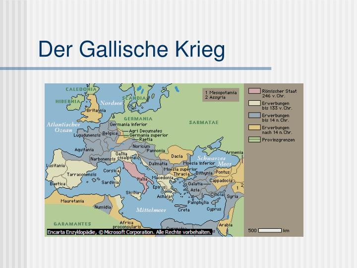 Caesar Gallischer Krieg