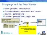 mappings and the data viewer