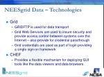 neesgrid data technologies