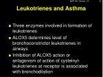 leukotrienes and asthma2