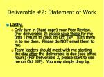 deliverable 2 statement of work1