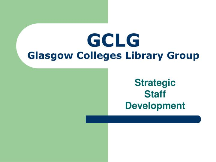 gclg glasgow colleges library group n.