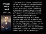 patrick hues mell 1814 1888