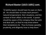 richard baxter 1615 1691 cont1