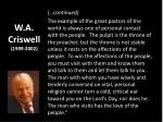 w a criswell 1909 20021
