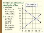 a c t i v e l e a r n i n g 1 analysis of tax