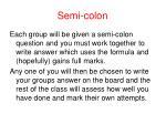 semi colon3