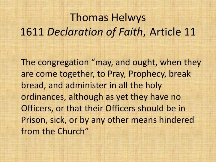 Thomas Helwys