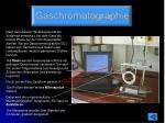 gaschromatographie