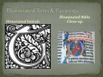 illuminated texts paintings