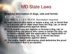 md state laws57