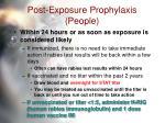 post exposure prophylaxis people35