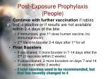 post exposure prophylaxis people36