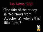 no news 600